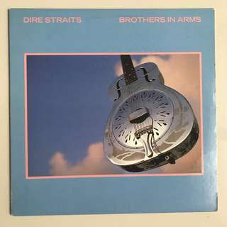Dire Straits Brothers In Arms US 1st press RL version Lp Record
