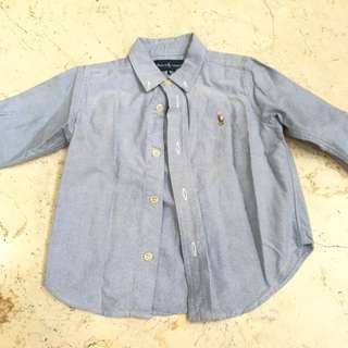 Ralph Lauren - 2T light blue
