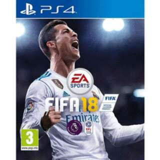 [BNIB]PS4 FIFA 18 (R3) With Ultimate Team Rare Players Pack