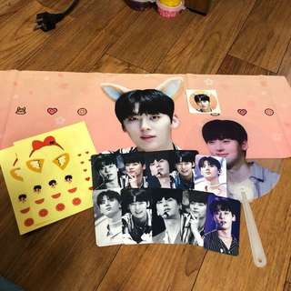 Wanna One/Nu'est Hwang Minhyun Slogan by @feverpitch_mh