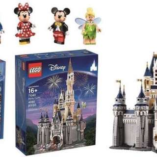 全新 現貨 71040 LEGO 樂高 迪士尼城堡 Disney Castle