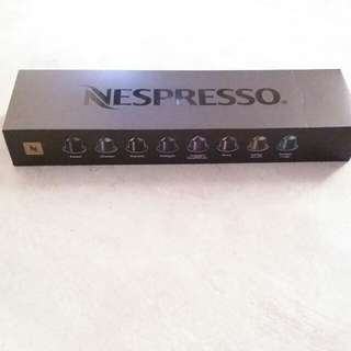 Nespresso 16 favor coffee capsules