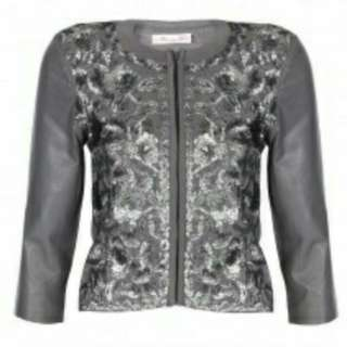 Alannah Hill Leather jacket best fit size 6