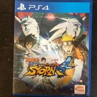 PS4 Naruto Ultimate Ninja Storm 4