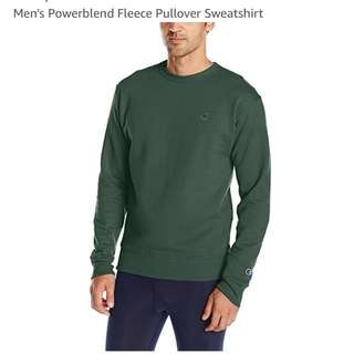 Champion Green Long Sleeve Pullover