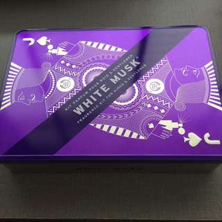 The body shop white musk kings and gentleman fragrance kit