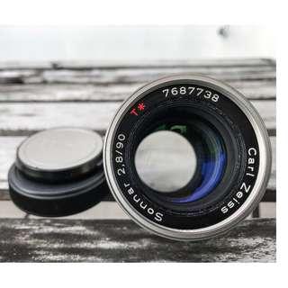 Contax Carl Zeiss Sonnar 90mm f2.8 - Excellent+++