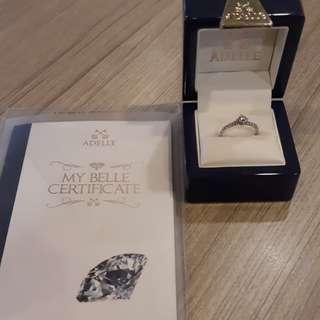 Cincin berlian adelle ring