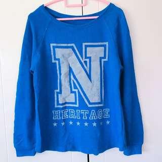 Net寶藍衛衣