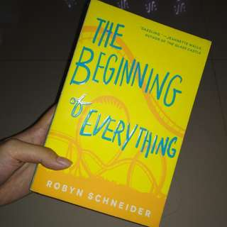 BUKU IMPORT The Beginning of Everything by Robyn Schneider