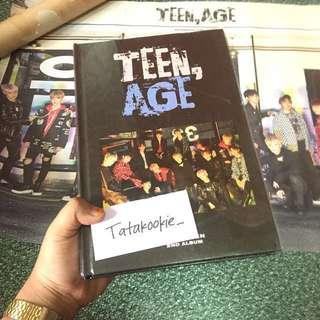 SEVENTEEN TEEN AGE