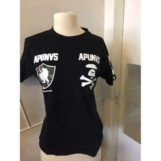 Aape By A Bathing Ape Black T-shirt