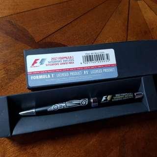 Formula 1 singapore 10th anniversary pen