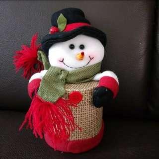 Chrismats gift box - snowman