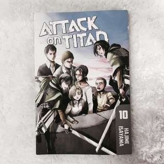 attack on titan volume 10 (english)