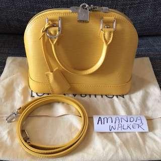 Louis Vuitton Alma EPI BB