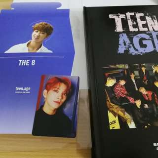 Seventeen teen age album with joshua pc and the 8 standee
