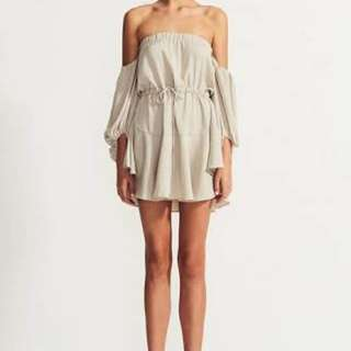 Shona Joy off shoulder dress