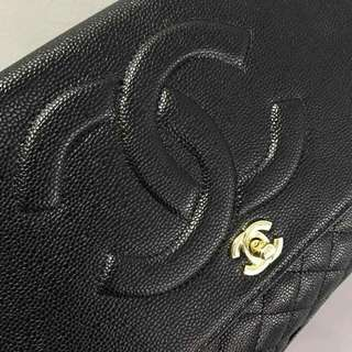 Chanel Timeless Bag Black Caviar with Gold Hardware