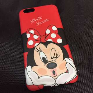 Minnie Mouse 🐭 i6 case