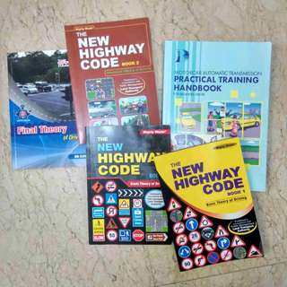 Books on driving theory