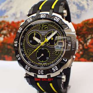Brand New TISSOT T-Race T092.417.27.067.00y Thomas Luthi Limited Edition Chronograph Watch.