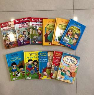 Children's Read it Yourself Books