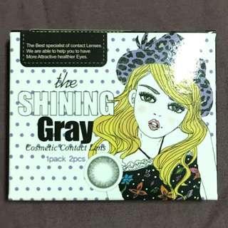 韓國品牌CLENS隱形眼鏡 灰色