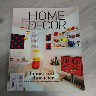 BN HOME& DECOR MAGAZINE AUG 2017 ISSUE @ $2 ONLY!!!