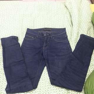 Celana Jeans Biru Zara Man Original