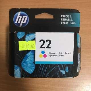HP惠普三色噴墨墨水匣