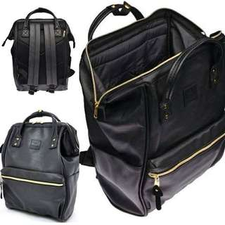 Annelo bag pack leather Large very good condition
