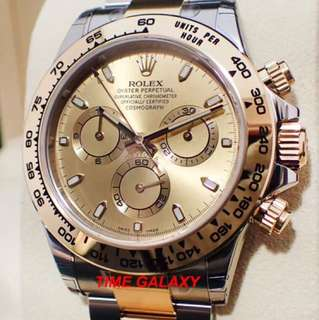 Rolex Daytona Half Gold