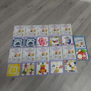 BN 3D DECORATION TRANSFER STICKER @ $1 PER PC OR ALL 11 PCS @ $8 ONLY!!!