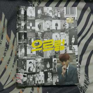 EXO Growl 으르렁 Repackaged Album
