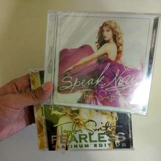 Taylor Swift CD bundle - Fearless / Speak Now