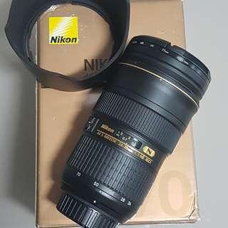 Nikon AFS 24-70mm f/2.8G ED