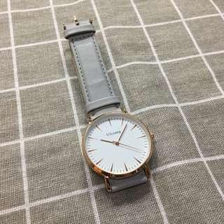 [全新] 日系淺灰色手錶