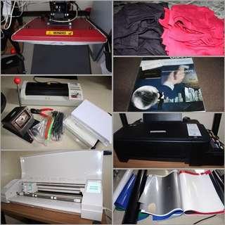 Digital printing package