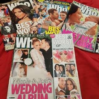 Who Magazines 😊