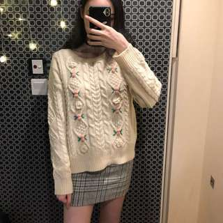 Sweet sweater 日系毛衣甜美(skirt is also available)