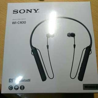 SONY WI-C400 未拆封