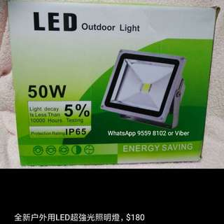 High quality 50 watts outdoor LED light