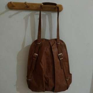 Two way brown bag