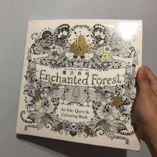 🎄Enchanted Forest Colouring Book