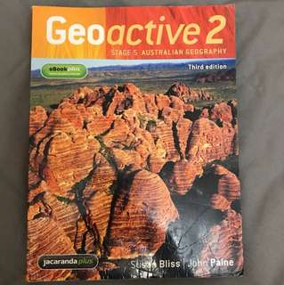 Geoactive 2 Australian Geography (third edition)