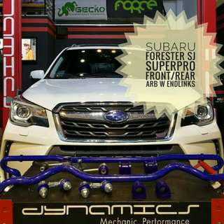 Subaru Forester SJ: SuperPro Front/Rear ARB with Front/Rear End-Links