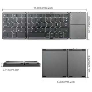 Wireless Keyboard Foldable for IOS/Android/Windows IPAD/Tablet