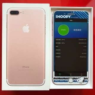 Apple iPhone 7 Plus 128GB Rose Gold with warranty to 22 Sep 2018