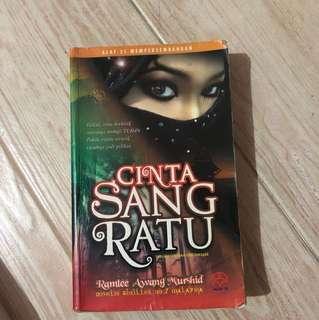 Malay novel - cinta sang ratu